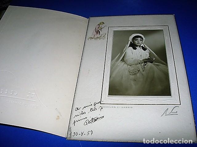 FOTO DE COMUNION NIÑA AÑOS 50 (Fotografía - Artística)