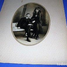 Fotografía antigua: FOTOGRAFIA MATRIMONIO PRINCIPIOS SIGLO XX . Lote 147405502