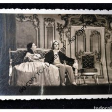 Fotografía antigua: BARCELONA FUNCIÓN DE TEATRO ACTRIZ ACTOR FOTO TORRES SALMERÓN POSTAL FOTOGRÁFICA. Lote 147467106