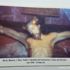 Fotografía antigua: COFRADIA DEL SANTISIMO CRISTO DEL PERDON AÑO 2000 JUBILAR MURCIA. Lote 147604578