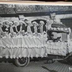 Fotografía antigua: FOTOGRAFIA CARNAVAL DE BARCELONA 1928 MEDIDAS 24,5X19. Lote 147662330