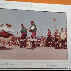 Fotografía antigua: DANZAS FOLKLORICAS EN LEON 22X15CM . Lote 147699470