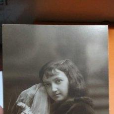 Fotografía antigua: FOTO EN TARJETA POSTAL ESTUDIO AMER PALMA DE MALLORCA. Lote 147699882