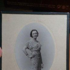 Fotografía antigua: FOTO ENMARCADA EN CRISTAL ESTUDIO DUARTE OVIEDO 1933 MEDIDAS 16,5X23 VER FOTOS. Lote 147700226