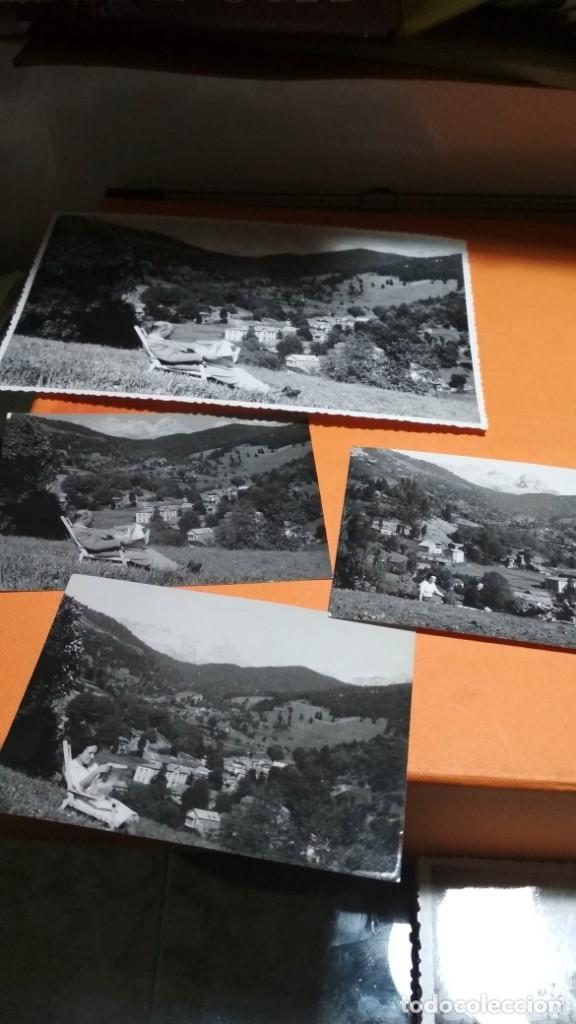 CUATRO FOTOS LEON SOTO DE SAJAMBRE 1963 10X7,5 Y 18X11,5 CM VER FOTOS (Fotografía - Artística)