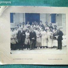 Fotografía antigua: ANTIGUA FOTOGRAFIA DE GENTE DE LA EPOCA - ANSEDE Y JUANES ( SALAMANCA ) // ( EXTR2019 ). Lote 147904270
