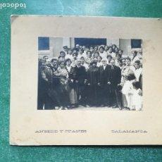 Fotografía antigua: ANTIGUA FOTOGRAFIA DE GENTE DE LA EPOCA - ANSEDE Y JUANES ( SALAMANCA ) // ( EXTR2019 ). Lote 147904618