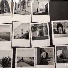 Fotografía antigua: LOTE DE FOTOS DE ZAMORA 1959 MEDIDAS 6X8. Lote 147939814