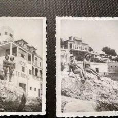Fotografía antigua: FOTOGRAFIAS HOTEL TERRENO EN PALMA DE MALLORCA EN 1942 MEDIDAS 6X8. Lote 147940074