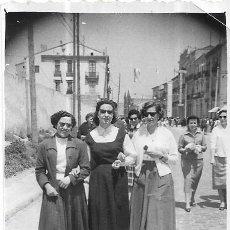 Fotografía antigua: *** CU919 - FOTOGRAFIA - TRES AMIGAS DE PASEO. Lote 148228398