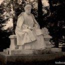 Fotografía antigua: FOTOGRAFÍA DE UNA ESCULTURA DE EMILIA PARDO BAZÁN - AÑOS 1920. Lote 148277654