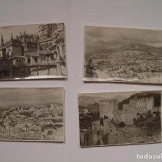 Fotografía antigua: 4 FOTOGRAFÍAS ANTIGUAS: GRANADA (1950'S) ¡ORIGINALES! COLECCIONISTA. Lote 148351194