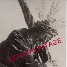 Fotografía antigua: SEMANA SANTA SEVILLA, ANTIQUISIMA FOTOGRAFIA DE NTRO.PADRE JESUS DE PASION, 90X135MM. Lote 148355098