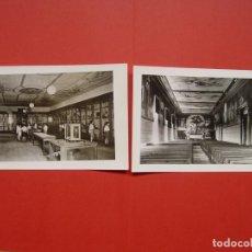 Fotografía antigua: 2 FOTOGRAFÍAS HISTÓRICAS: COLEGIO SAN ANTÓN (MADRID) (1950'S) ¡ORIGINALES! COLECCIONISTA. Lote 148377470