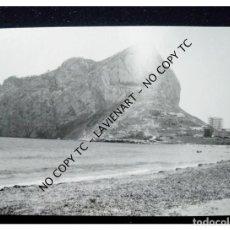 Fotografía antigua: PEÑÓN DE GILBRALTAR CON EDIFICIOS EN CONSTRUCCIÓN 1964 FOTO JAVIER. Lote 148381274