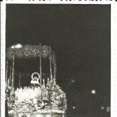 Fotografía antigua: FOTOGRAFIA SEMANA SANTA MALAGUEÑA SOLEDAD DE MENA MALAGA. Lote 148700574