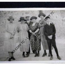 Fotografía antigua: FOTOGRAFÍA AÑOS 20 ESCRITO SEGOVIA JULIO 1920 POTAL FOTOGRÁFICA. Lote 148732154