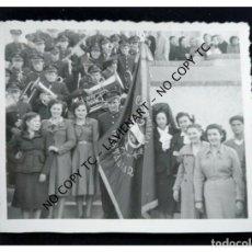 Fotografía antigua: GESTALGAR - VALENCIA - FIESTAS - BANDA DE MÚSICA FOTO SÁNCHEZ VALENCIA . Lote 148752878
