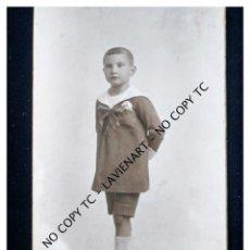 Fotografía antigua: VALENCIA FOTO CASA GARCÍA 1924 SOBRE CARTÓN TARJETA POSTAL . Lote 148759082