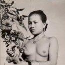 Fotografía antigua: FOTOGRAFÍA DE MUJER INDÍGENA DE BORNEO - AÑOS 1950. Lote 152153242