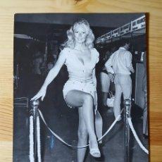 Fotografía antigua: PHOTOPRESS ACTRIZ MODELO SEXY VERONICA CARLSON 1971 - AGIP. Lote 149265142