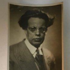 Fotografía antigua: GIOVANI PAPINI, FOTOGRAFÍA FIRMADA 1933. Lote 149518018