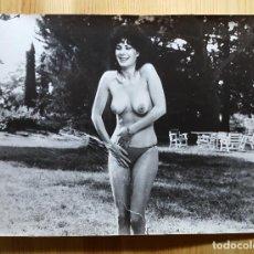 Fotografía antigua: FOTO CHICA SEXY DESNUDA TOP LESS FOTO EROTICA AÑOS 70/80? PUEDE SER UNA ACTRIZ EN ALGUNA PELÍCULA?. Lote 149540330