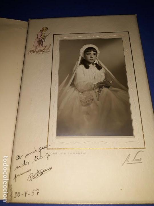 PRIMERA COMUNION AÑO 1957. (Fotografía - Artística)