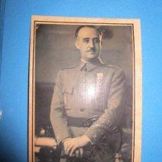 Fotografía antigua: FOTO E. OTERO MADRID DE FRANCO CON EBLEMA DE FALANGE TROQUEL. Lote 149907826