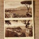 Fotografía antigua: NÁPOLES - 25 FOTOGRAFÍAS DESPLEGABLES B/N - AÑOS 1950. Lote 149944230