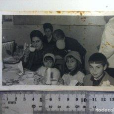 Fotografía antigua: FOTOGRAFIA - FOTO FAMILIAR NIÑOS. Lote 150018018