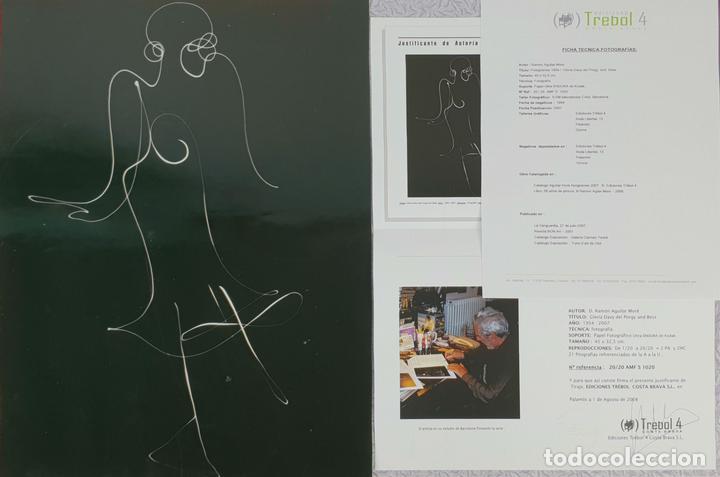 FOTOGRAFÍA ARTÍSTICA. FISIOGRAMAS. FIRMADA RAMÓN AGUILAR MORÉ. REF.1020. 2007. (Fotografía - Artística)