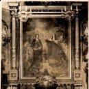 Fotografía antigua: FOTO DEL CUADRO DE ESQUIVEL SANTA TERESA Y SANTA ISABEL EN LA PARROQUIA DE CHAMBERÍ - 1934. Lote 150222218
