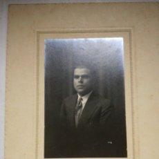 Fotografía antigua: FOTO ESTUDIO PALACIO SAN FRANCISCO ALCOY. Lote 150272473