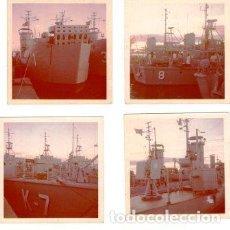 Fotografía antigua: LANCHAS DESEMBARCO SERIE K ARMADA 1970. Lote 150311234