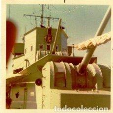 Fotografía antigua: MINADOR ARMADA ESPAÑOLA 1970. Lote 150311458