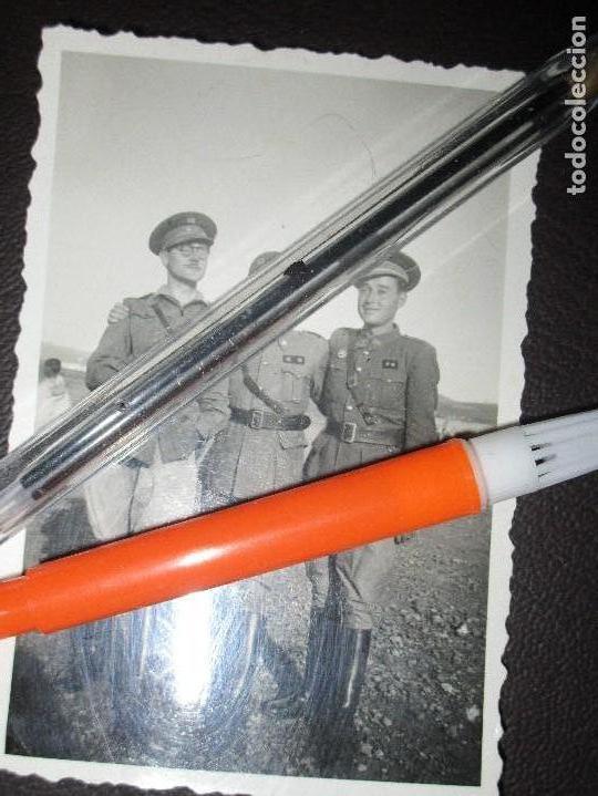 1º PERMISO OPERACIONES DEL EBRO 19-X-1938 TENIENTES DE LEGION GUERRA CIVIL ESPAÑOLA (Fotografía - Artística)