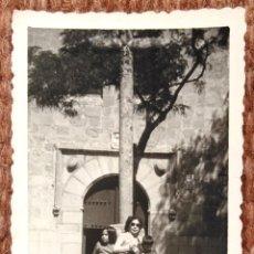 Fotografía antigua: AVILA - LOTE DOS FOTOS. Lote 150934190