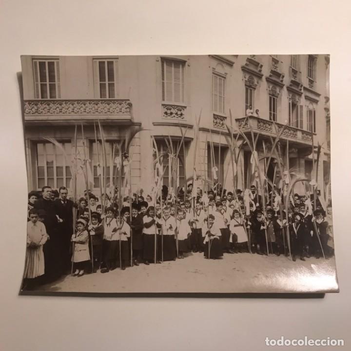 Fotografía antigua: Foto del dia de la palma. 16,6x21,8cm - Foto 2 - 147502586