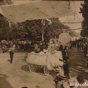 Foto carruajes ciudad 17x12,7 cm