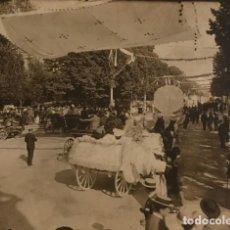 Fotografía antigua: FOTO CARRUAJES CIUDAD 17X12,7 CM. Lote 149323086