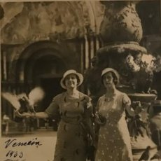 Fotografía antigua: 1933 VENECIA 14X9 CM. Lote 149324214
