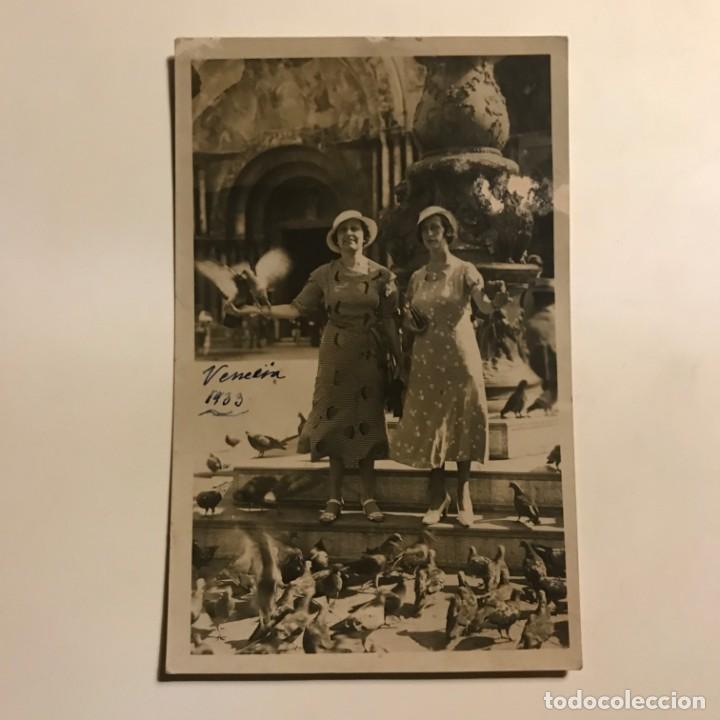 Fotografía antigua: 1933 Venecia 14x9 cm - Foto 2 - 149324214