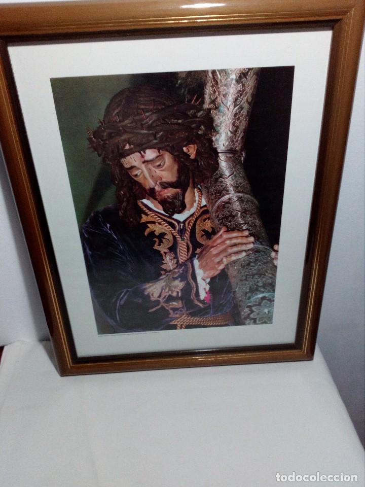CUADRO CON LÁMINA (HERMANDAD DE NUESTRO PADRE JESÚS NAZARENO) JUAN DE MESA -LA RAMBLA- CÓRDOBA (Fotografía - Artística)