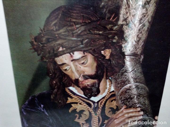 Fotografía antigua: CUADRO CON LÁMINA (HERMANDAD DE NUESTRO PADRE JESÚS NAZARENO) JUAN DE MESA -LA RAMBLA- CÓRDOBA - Foto 2 - 151324310