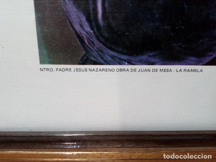 Fotografía antigua: CUADRO CON LÁMINA (HERMANDAD DE NUESTRO PADRE JESÚS NAZARENO) JUAN DE MESA -LA RAMBLA- CÓRDOBA - Foto 6 - 151324310