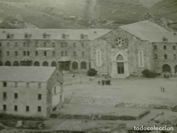 Fotografía antigua: Fotografia de 23x18, vista general del Santuario de Nuria , años 30-40. - Foto 2 - 151396146