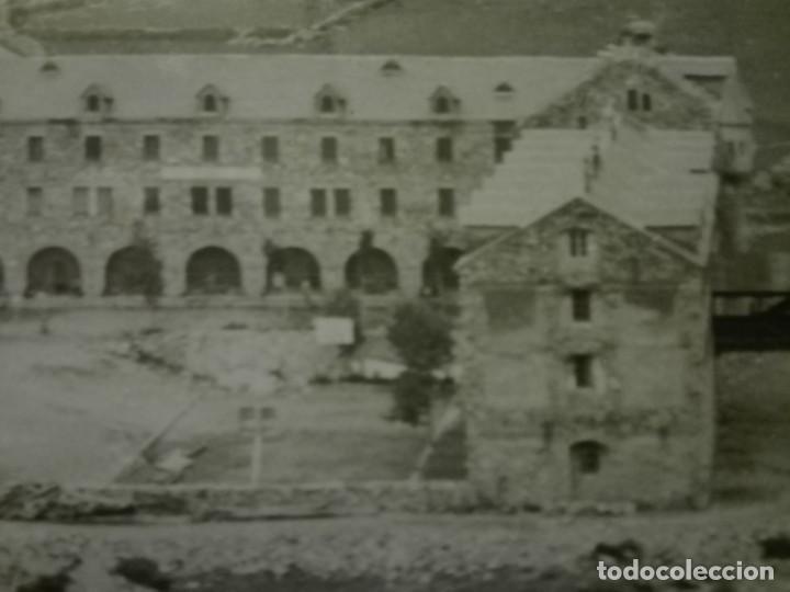 Fotografía antigua: Fotografia de 23x18, vista general del Santuario de Nuria , años 30-40. - Foto 3 - 151396146