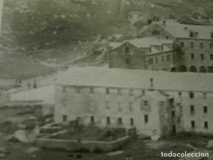 Fotografía antigua: Fotografia de 23x18, vista general del Santuario de Nuria , años 30-40. - Foto 4 - 151396146