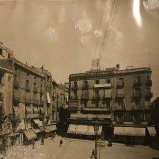 Fotografía antigua: 1908 BARCELONA VELLA. PLAÇA DEL ANGEL. ARXIU MAS. REPERTORI ICONOGRÀFIC D'ESPANYA 25X20 CM. Lote 149304706